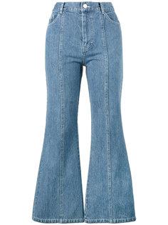расклешенные джинсы Tinder Sandy Liang