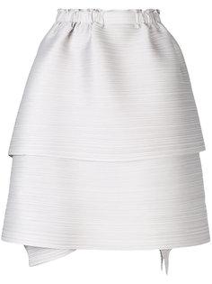 многоярусная пышная юбка Pleats Please By Issey Miyake