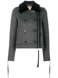двубортная куртка в клетку Nº21