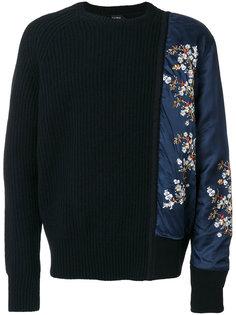 свитер асимметричного кроя Nº21