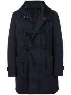 пальто на молнии с ремешками Nº21
