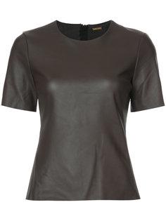 футболка с короткими рукавами Adam Lippes