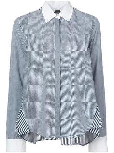 striped cotton trapeze shirt  Adam Lippes