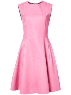 мини платье с расклешенной юбкой Adam Lippes