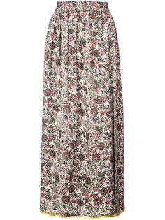 patterned maxi skirt Adam Lippes