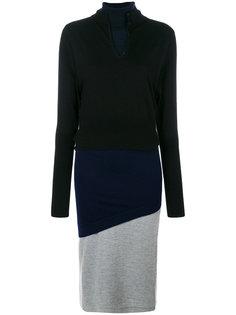 трехслойное платье JW Anderson