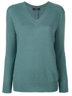 пуловер с V-образным вырезом  Steffen Schraut