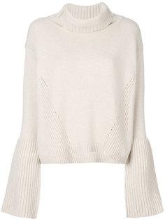 свободный свитер с отворотом  Dorothee Schumacher
