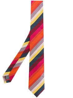 галстук в диагональную полоску Paul Smith