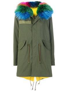 парка с капюшоном  Furs66