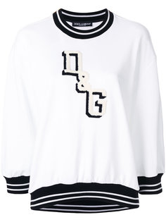 толстовка с логотипом  Dolce & Gabbana