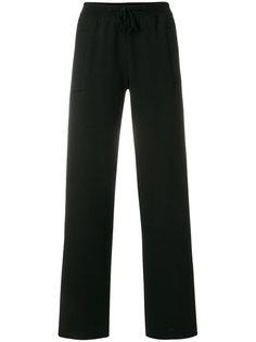 спортивные брюки с эластичным поясом Ql2