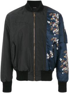 куртка-бомбер с цветочным принтом Nº21