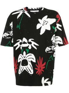 футболка с цветами Rochambeau