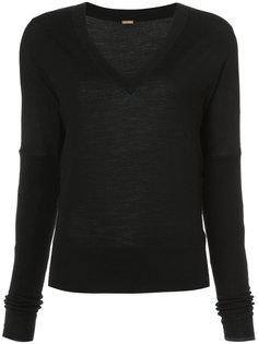свитер с V-образным вырезом Adam Lippes