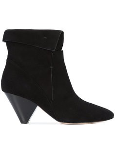 folded cuff ankle boots Veronica Beard