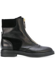 ботинки на молнии Casadei