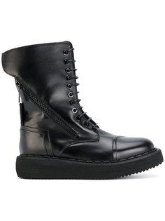 высокие ботинки на шнуровке Bruno Bordese