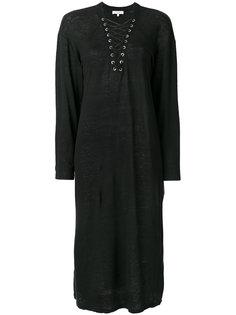 платье с воротником со шнуровкой Iro