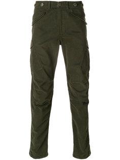 прямые брюки Maharishi