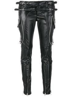 лакированные брюки с молниями  Faith Connexion