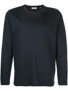 свитер с полосатой отделкой Cerruti 1881