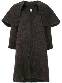 пальто с объемным воротником Gianluca Capannolo