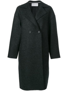 свободное двубортное пальто  Harris Wharf London