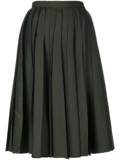 плиссированная пышная юбка  Nº21