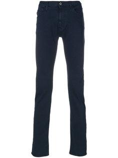 брюки кроя слим Armani Jeans