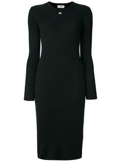 приталенное платье миди Courrèges
