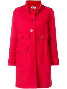 приталенное пальто на пуговицах Courrèges