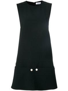 платье шифт дизайна колор-блок Courrèges