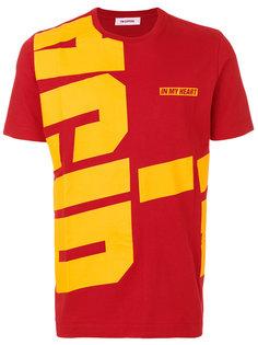 футболка с принтом Tim Coppens