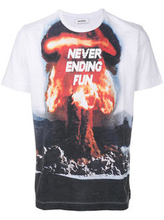 футболка с принтом атомного взрыва Tim Coppens