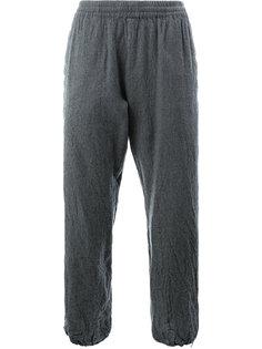 спортивные брюки с эффектом помятости 08Sircus