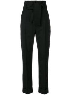 брюки с высокой талией и поясом Sara Battaglia