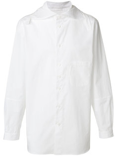 рубашка с широким воротником Yohji Yamamoto