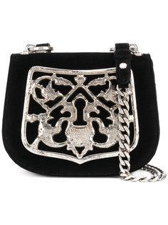 сумка с металлической деталью Prada