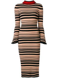 платье-свитер в полоску Twin-Set
