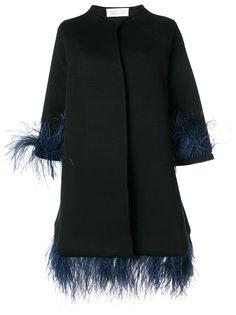 декорированное пальто Capucine Gianluca Capannolo
