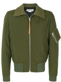 куртка бомбер с принтом Loewe