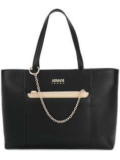 сумка-тоут с сумочкой на цепочке Armani Jeans