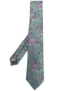 галстук с абстрактным узором Canali