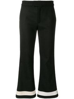 укороченные расклешенные брюки Ssheena