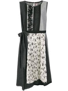 платье без рукавов с цветочным принтом  Antonio Marras