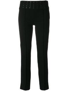 укороченные брюки с отделкой на талии  Emilio Pucci