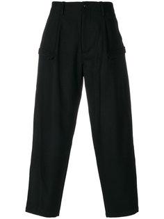 брюки с боковыми карманами Yohji Yamamoto