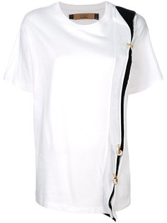 футболка с панелью с кольцами Coliac