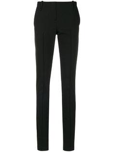 классические брюки кроя слим Masnada